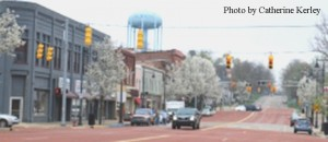 Albion downtown