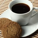 coffee with cookies