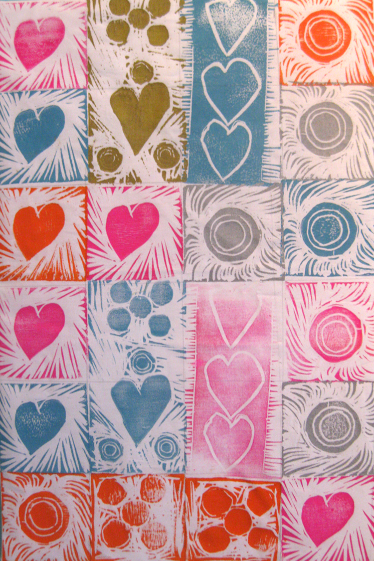 make an adinkra cloth albion district library
