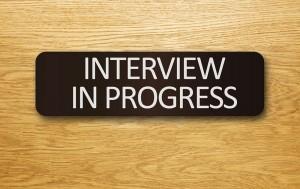 interviews sign