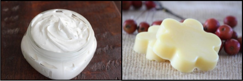 body butter and lotion bars