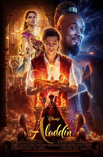 Poster of Aladdin film