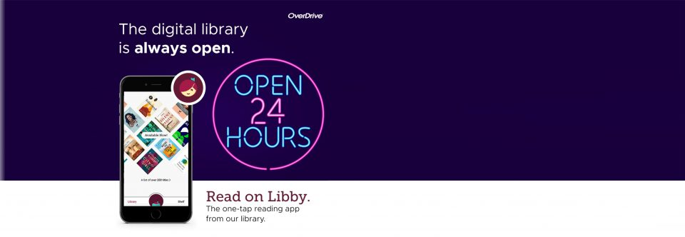 Download Books & Audiobooks with Libby!