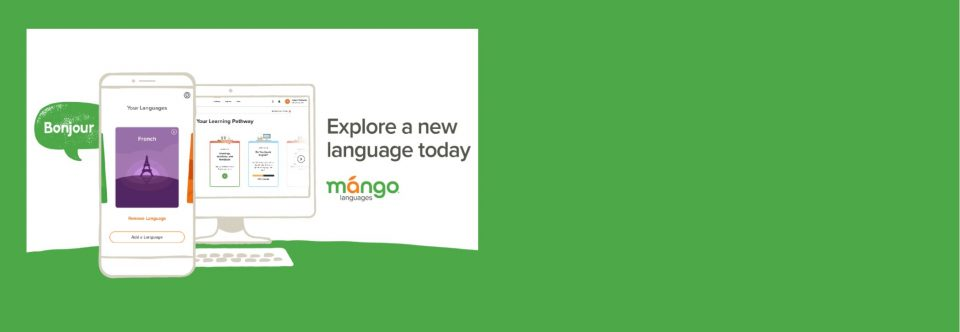 Mango Languages Now Available!